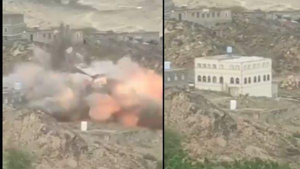 الحكومة اليمنية تدين تفجير مليشيا الحوثي الإرهابية لمنزل مواطن في محافظة البيضاء